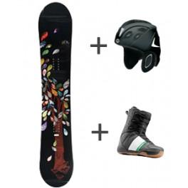 Pack Snowboard Enfants